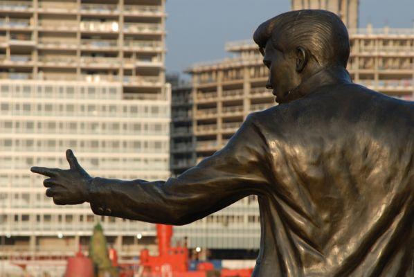 Statue of Billy Fury, Albert Dock, Liverpool