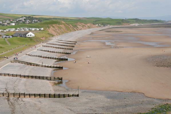 Beach at St Bees, West Cumbria
