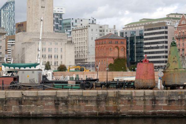 Old docks, new city, Liverpool