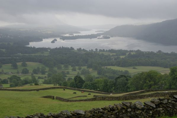 Early morning over Lake Windermere